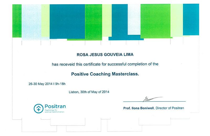 Coaching Positive Master Class